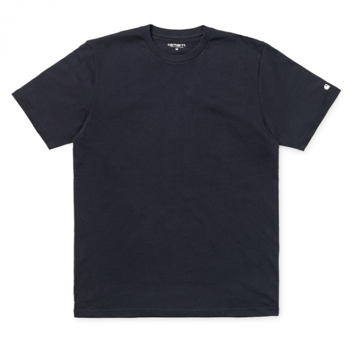 CARHARTT S/S BASE T-SHIRT DARK NAVY / WHITE 0