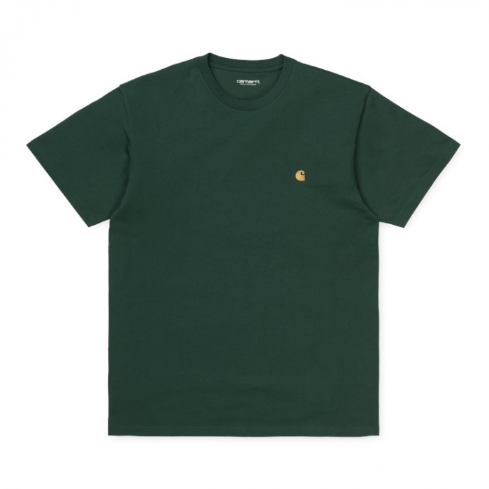CARHARTT S/S Chase T-Shirt Treehouse / Gold 0