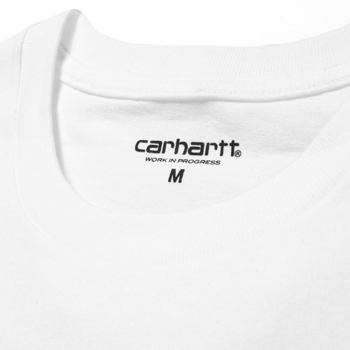 CARHARTT S/S College T-Shirt White / Black 1
