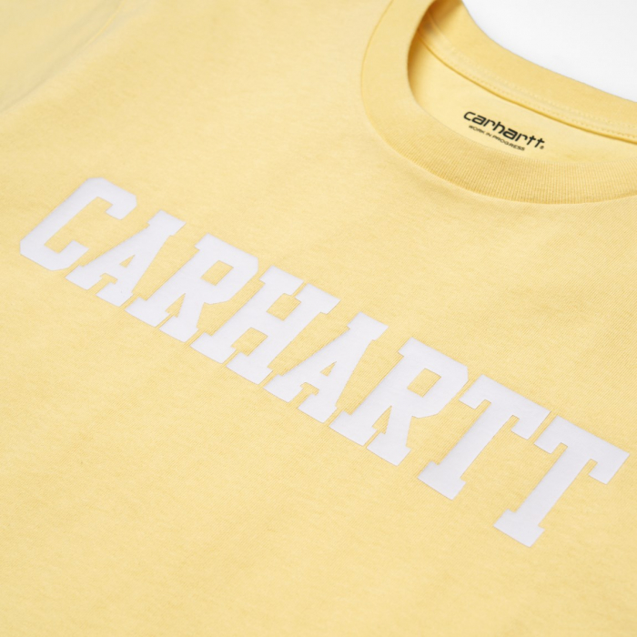 CARHARTT S/S College T-Shirt Fresco / White 1