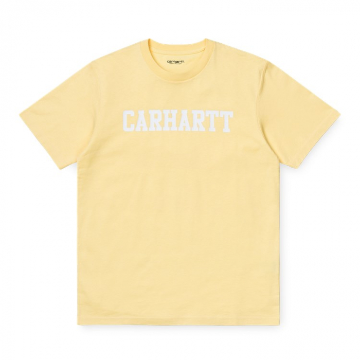 CARHARTT S/S College T-Shirt Fresco / White 0