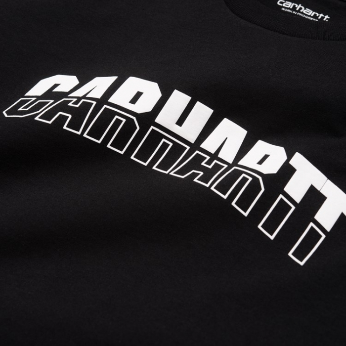 CARHARTT S/S District T-Shirt Black / White 1