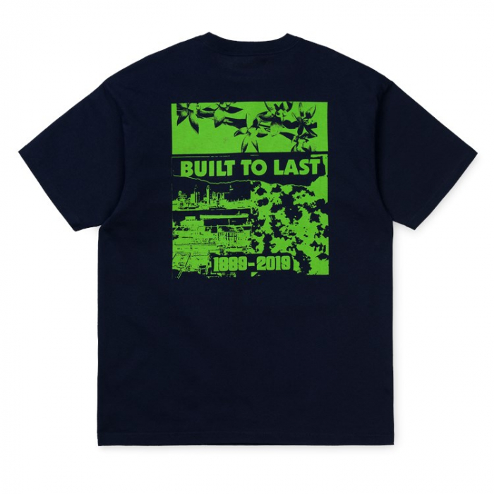 CARHARTT S/S Industry T-Shirt Dark Navy / Green 1