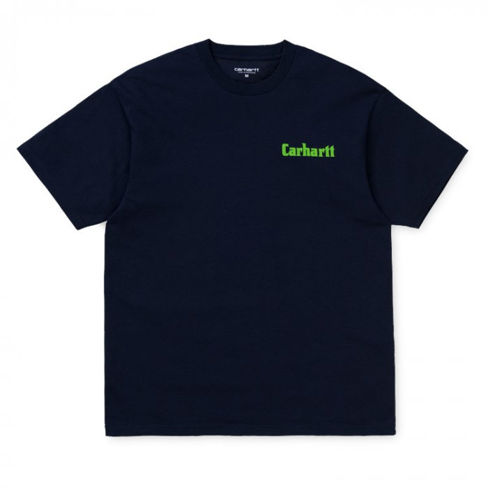 CARHARTT S/S Industry T-Shirt Dark Navy / Green 0