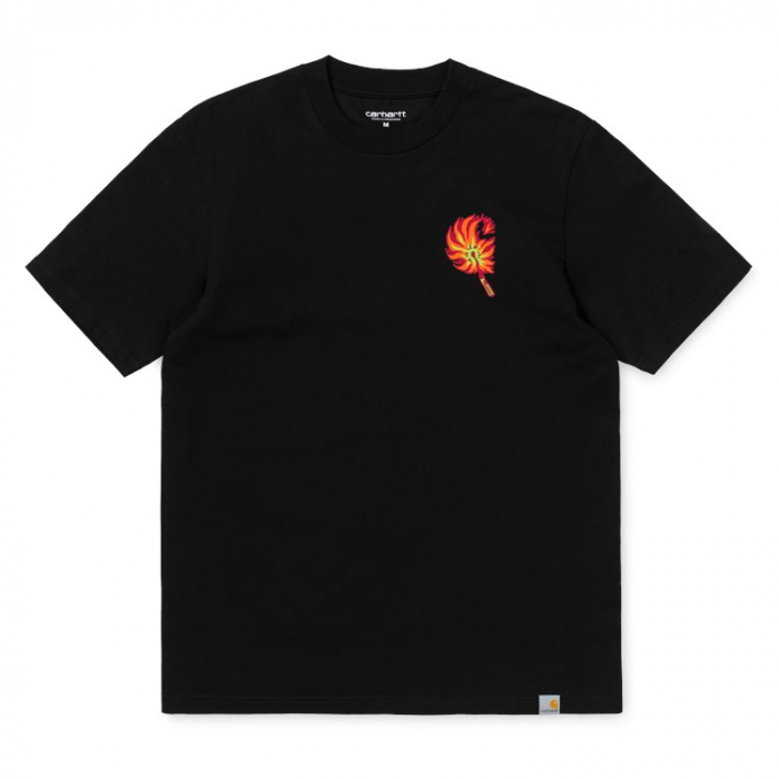 CARHARTT S/S Match T-Shirt Black 0