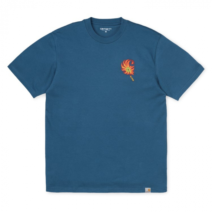 CARHARTT S/S Match T-Shirt Prussian Blue 0
