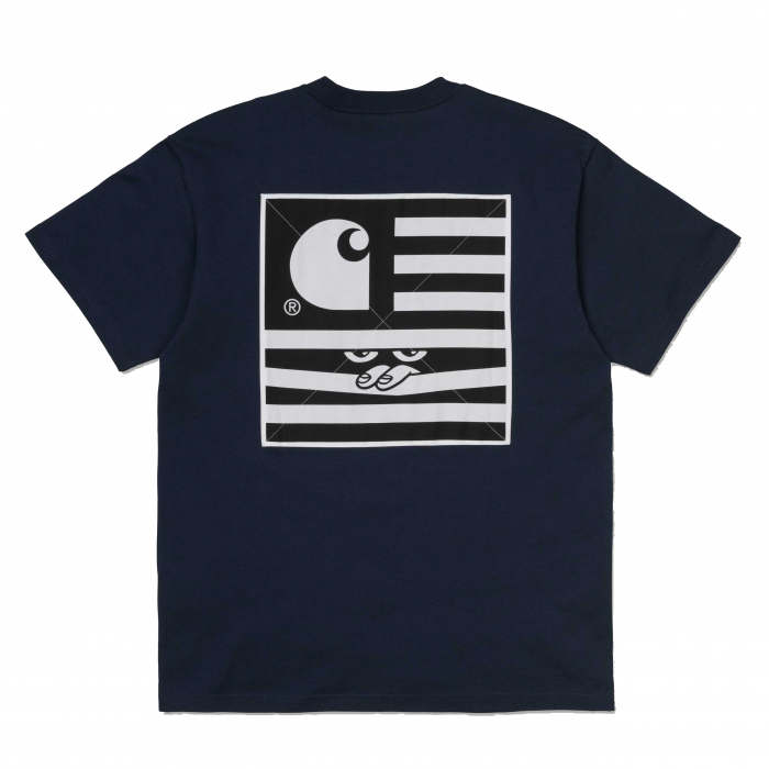 CARHARTT S/S Incognito T-Shirt Blue 1