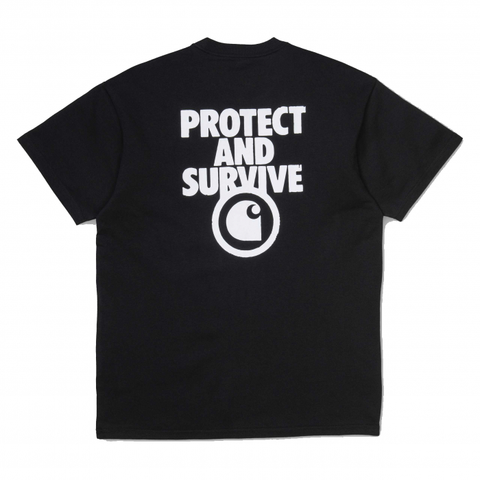 CARHARTT S/S Protect T-Shirt Black / White 1