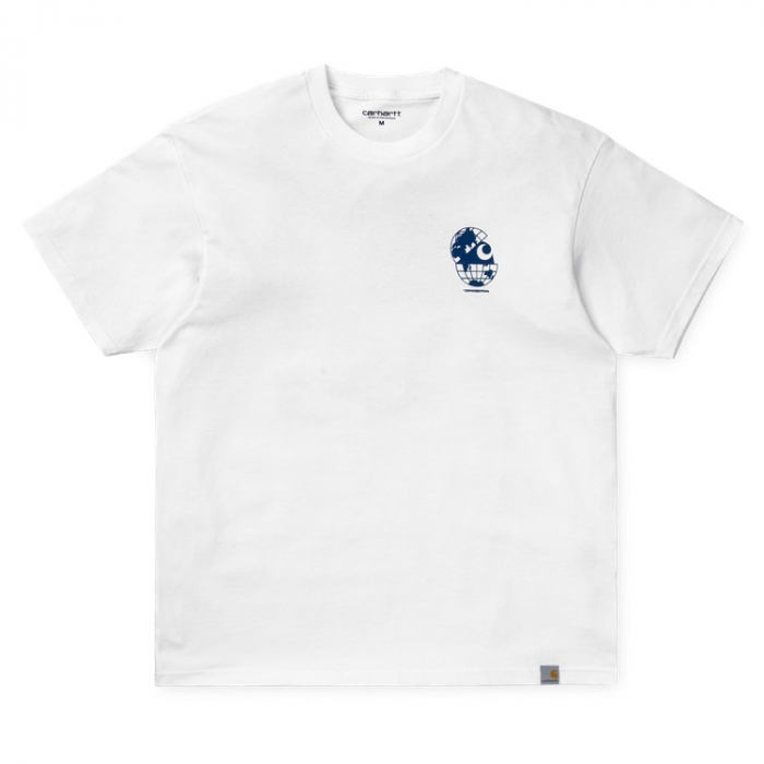 CARHARTT S/S Radio T-Shirt White / Blue 0