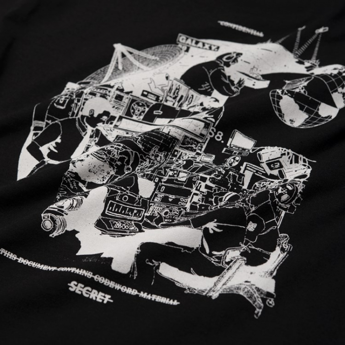 CARHARTT S/S Radio T-Shirt Black / White 2