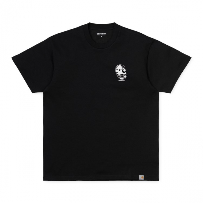 CARHARTT S/S Radio T-Shirt Black / White 0