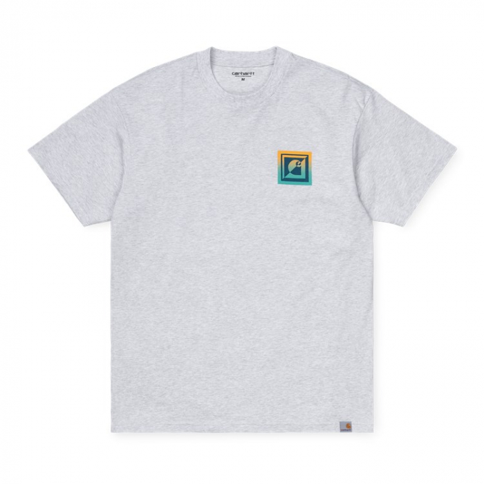 CARHARTT S/S Record Club T-Shirt Ash Heather 0