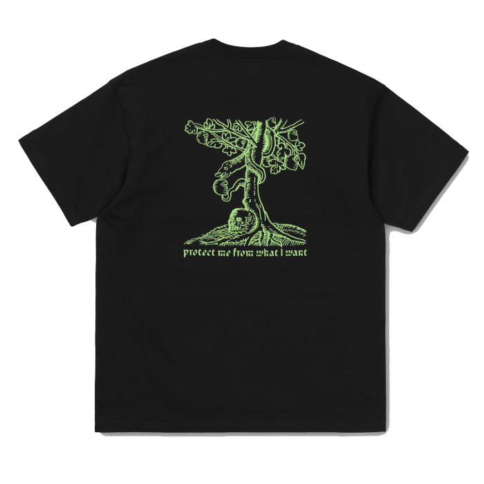 CARHARTT S/S Snake T-Shirt Black / Green 1