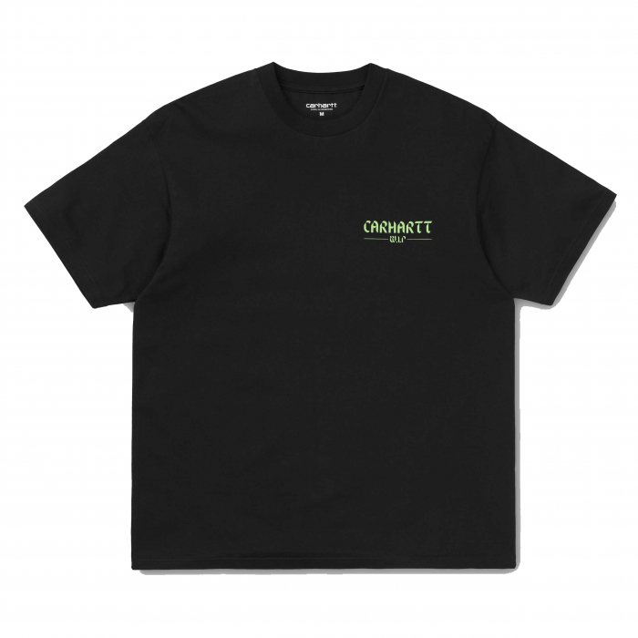 CARHARTT S/S Snake T-Shirt Black / Green 0