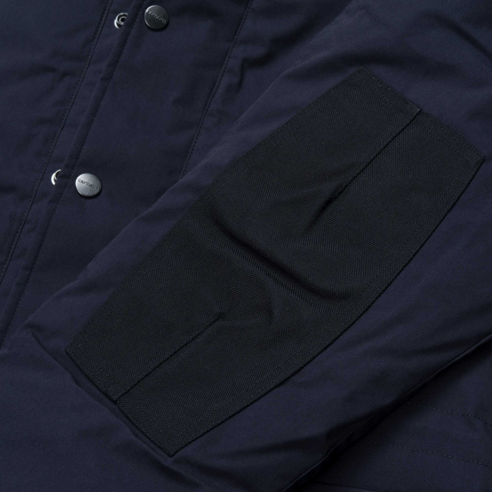 CARHARTT TRAPPER PARKA DARK NAVY / BLACK 3