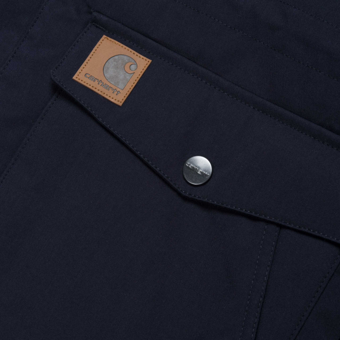CARHARTT TRAPPER PARKA DARK NAVY / BLACK 4