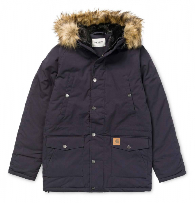 CARHARTT TRAPPER PARKA DARK NAVY / BLACK 0