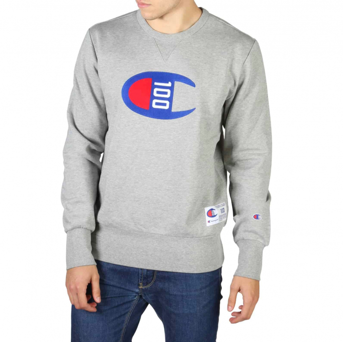 CHAMPION Crewneck Logo Sweat 214369 Grey 0