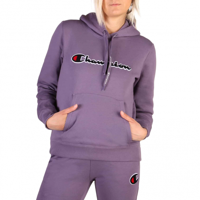 CHAMPION Hooded Sweat 111965 Violet 0