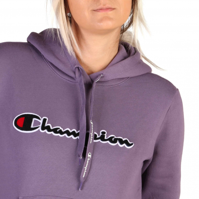 CHAMPION Hooded Sweat 111965 Violet 2