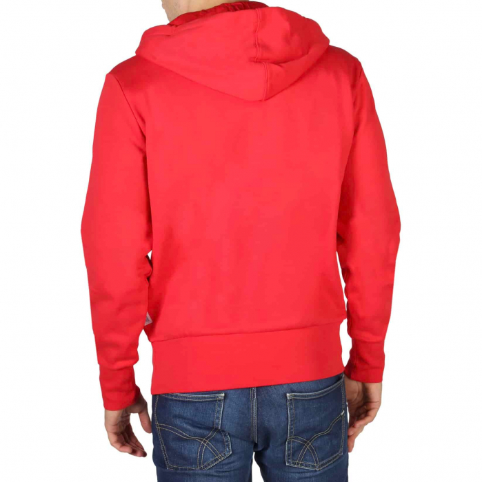 CHAMPION Hooded Sweat 214368 Red 1