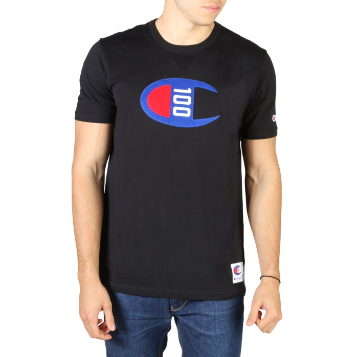 CHAMPION S/S Logo T-Shirt 214371 Black 0