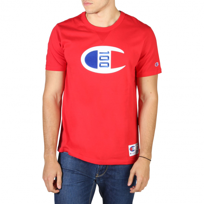 CHAMPION S/S Logo T-Shirt 214371 Red 0