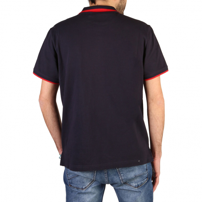 CHAMPION S/S Polo Shirt 214461 BS Navy Blue 1