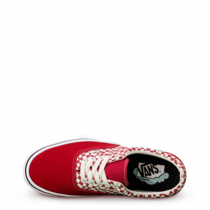 VANS Era Comfy Cush Checkerboard / Red 2