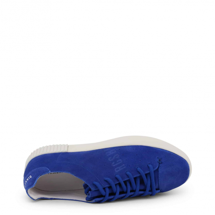 BIKKEMBERGS Cosmos 2100 Suede Blue / White 2