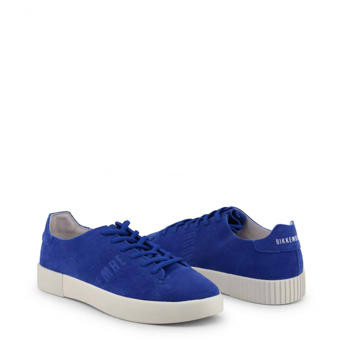 BIKKEMBERGS Cosmos 2100 Suede Blue / White 1