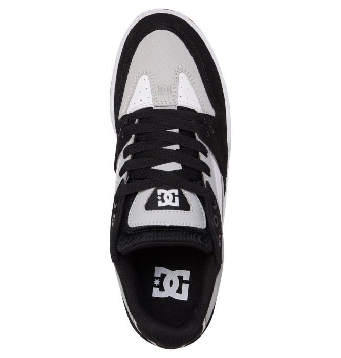 DC SHOES MASWELL GREY/BLACK/WHITE 3