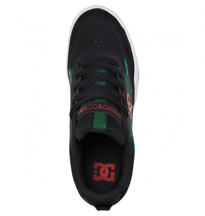 DC SHOES PENZA BLACK/RED/GREEN 3