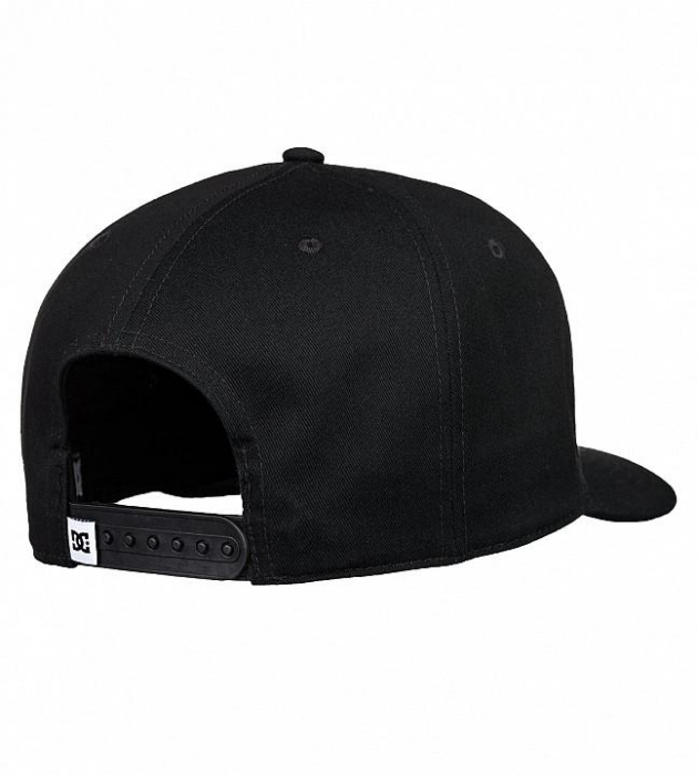 DC SHOES REYNOTTS CAP 2 BLACK 1