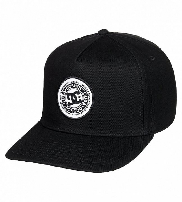 DC SHOES REYNOTTS CAP 2 BLACK 0