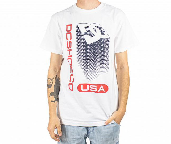 DC SHOES S/S BIG JUMP T-SHIRT WHITE 0