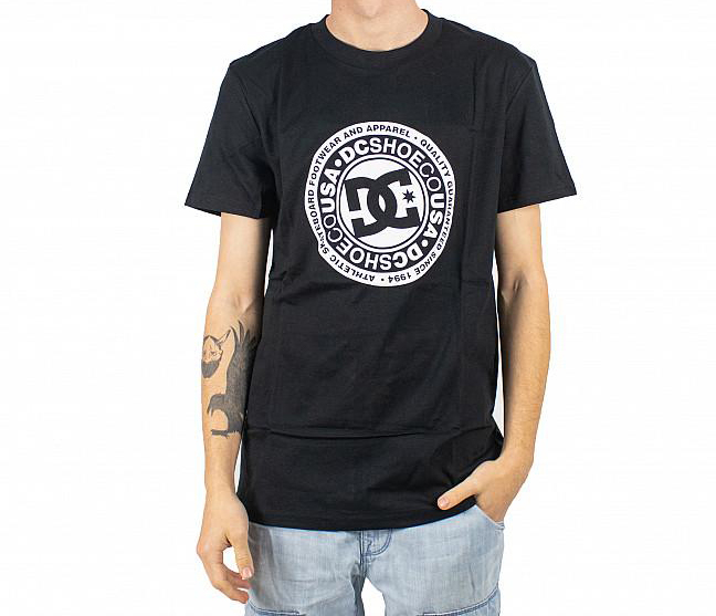 DC SHOES S/S CIRCLE STAR T-SHIRT BLACK 0