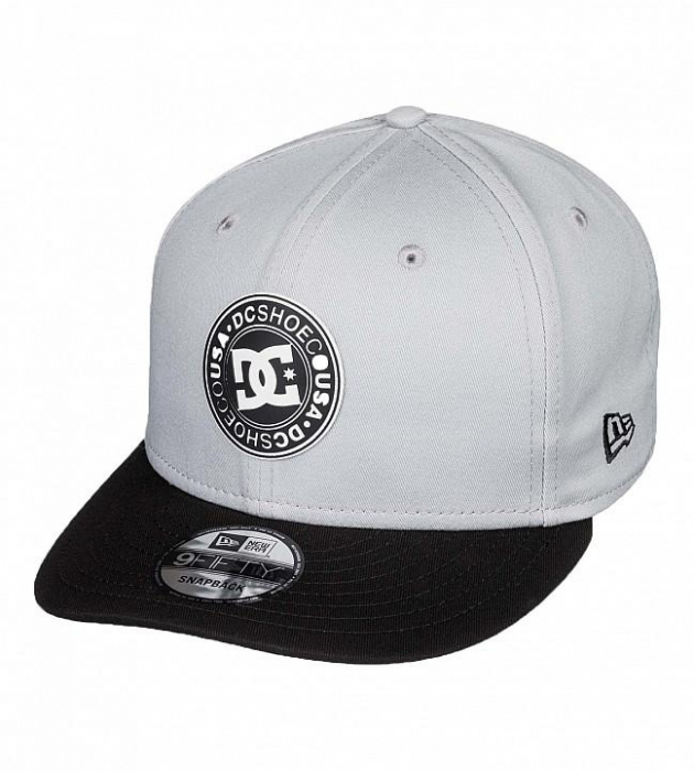 DC SHOES SPEED DEMON CAP GREY-BLACK 0