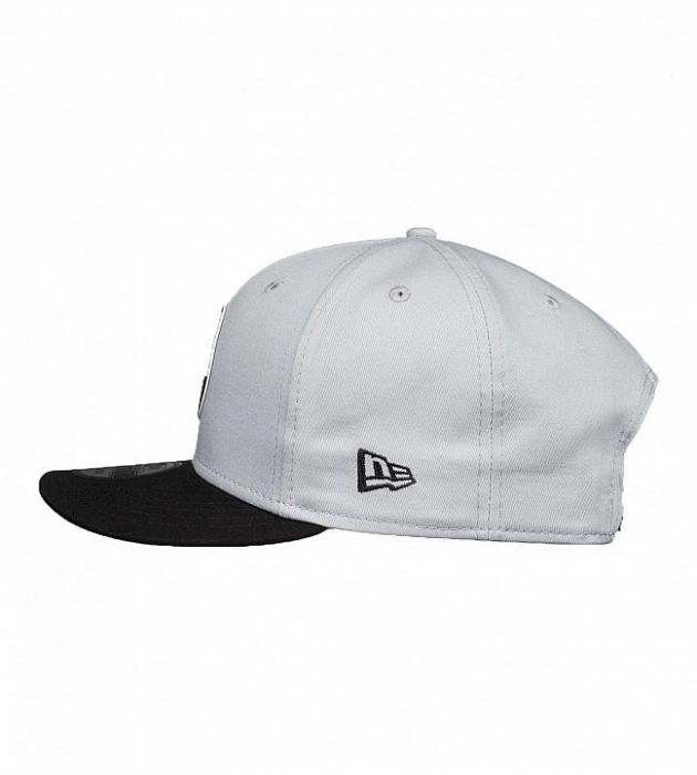 DC SHOES SPEED DEMON CAP GREY-BLACK 1