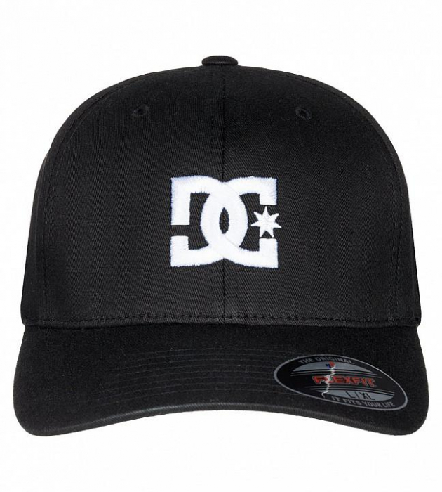 DC SHOES STAR CAP 2 BLACK 1
