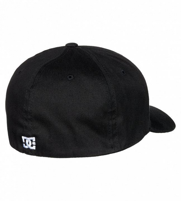DC SHOES STAR CAP 2 BLACK 3
