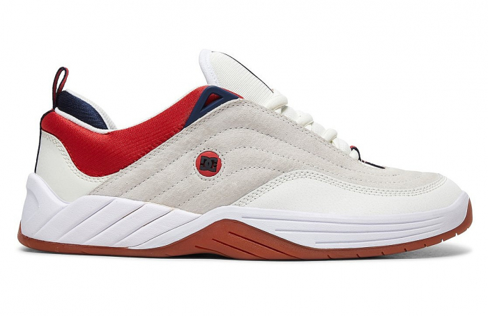 DC SHOES WILLIAMS SLIM WHITE/NAVY/RED 0