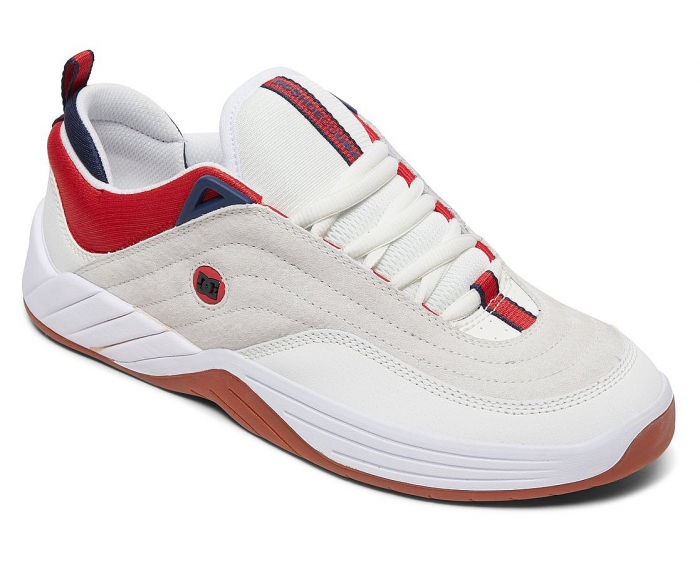 DC SHOES WILLIAMS SLIM WHITE/NAVY/RED 2