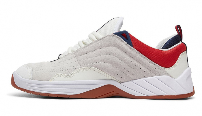 DC SHOES WILLIAMS SLIM WHITE/NAVY/RED 1