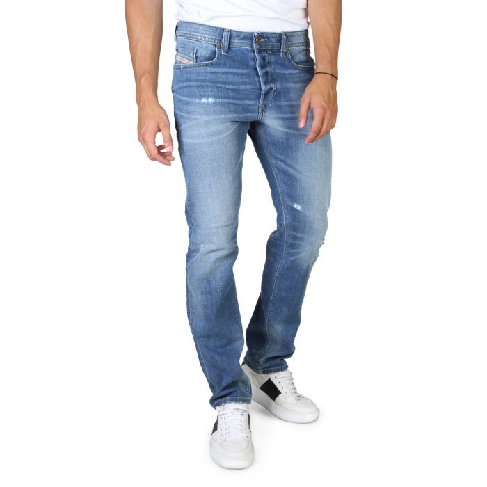 DIESEL Buster Jeans Light Blue / Distressed Treated 0