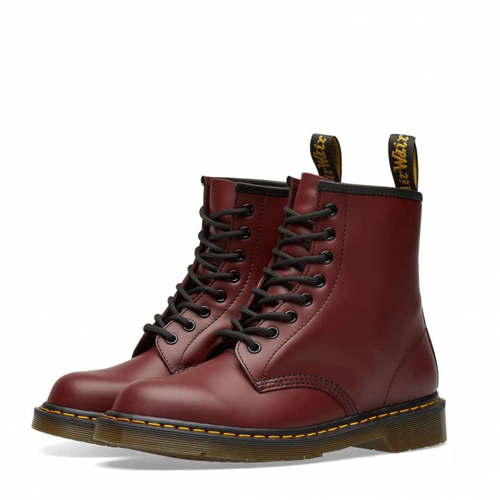 DR. MARTENS 1460 Smooth Cherry Red 1
