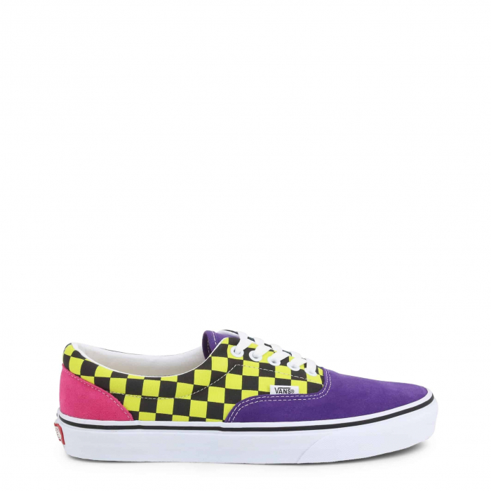 VANS Era Violet / Yellow Checkboard 0