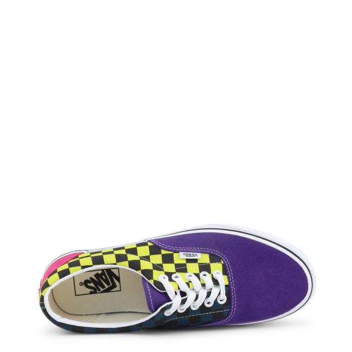 VANS Era Violet / Yellow Checkboard 2