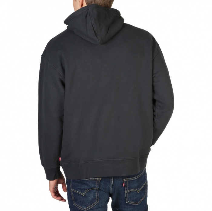 LEVI'S Relaxd Graphic Hooded Sweat Black 1