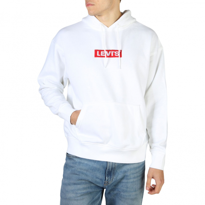 LEVI'S Relaxd Graphic Hooded Sweat White 0